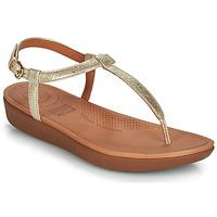Παπούτσια Γυναίκα Σαγιονάρες FitFlop TIA Gold