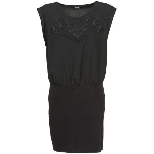 Υφασμάτινα Γυναίκα Κοντά Φορέματα Vila VIHAMIN Black