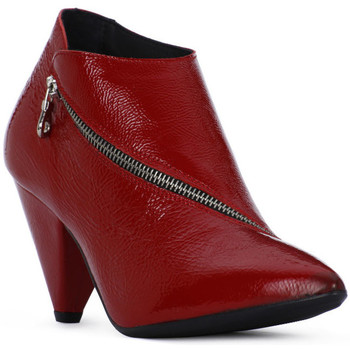 Μποτάκια/Low boots Juice Shoes ROSSO NAPLAK