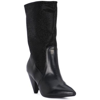 Μποτίνια Juice Shoes TEVERE NERO STRASS NERI