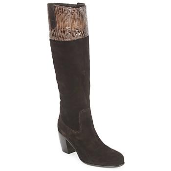 Παπούτσια Γυναίκα Μπότες για την πόλη C.Doux ENZO BOT Brown