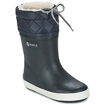 Παπούτσια Παιδί Snow boots Aigle GIBOULEE Marine / Άσπρο