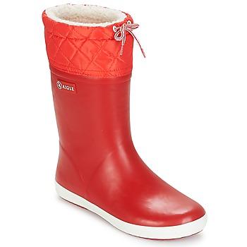 Παπούτσια Παιδί Snow boots Aigle GIBOULEE Red / Άσπρο