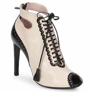 Παπούτσια Γυναίκα Χαμηλές Μπότες Moschino MA1602A Beige