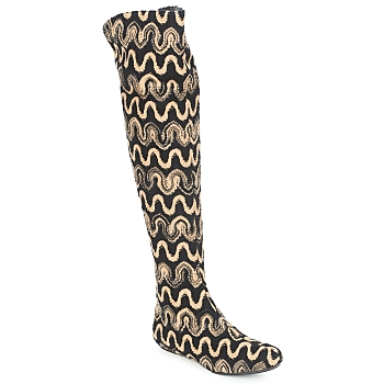 Παπούτσια Γυναίκα Ψηλές μπότες Missoni SM05 Beige