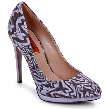 Παπούτσια Γυναίκα Γόβες Missoni SM113 Beige / Lilas