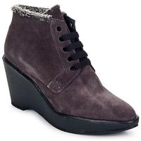 Παπούτσια Γυναίκα Χαμηλές Μπότες Parallèle LAHO PRUNE