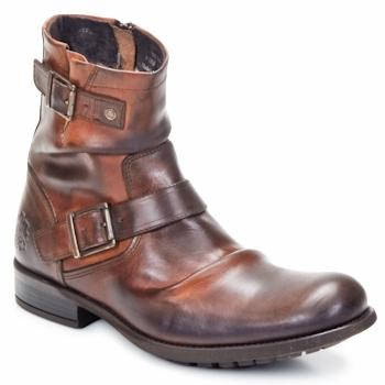 Παπούτσια Άνδρας Μπότες Base London METAL Tan