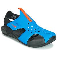 Παπούτσια Παιδί Σανδάλια / Πέδιλα Nike SUNRAY PROTECT 2 PS Black / Μπλέ