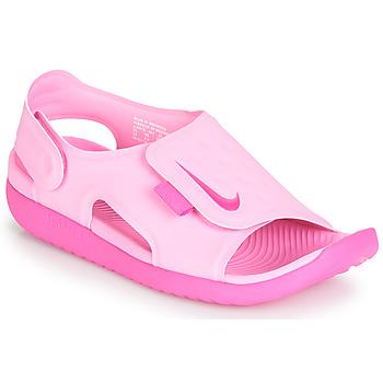 Παπούτσια Κορίτσι Σανδάλια / Πέδιλα Nike SUNRAY ADJUST 5 Ροζ