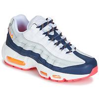 Παπούτσια Γυναίκα Χαμηλά Sneakers Nike AIR MAX 95 W Άσπρο / Μπλέ / Orange