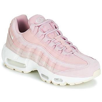 Παπούτσια Γυναίκα Χαμηλά Sneakers Nike AIR MAX 95 PREMIUM W Ροζ
