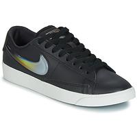 Παπούτσια Γυναίκα Χαμηλά Sneakers Nike BLAZER LOW LX W Black / Argenté